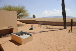 Self catering house in the Namib rand Private park
