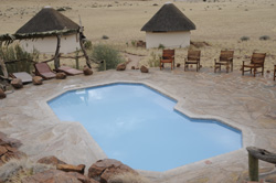 Places to stay in the Namib Desert