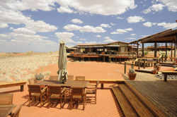 Wonderful views at Wolwedans lodge Namibia